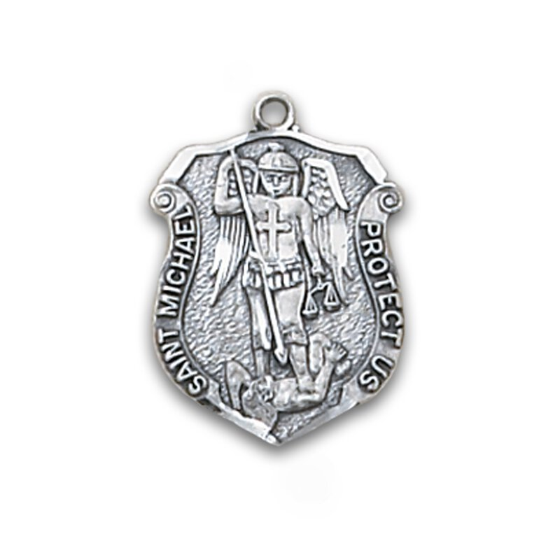 Creed® Sterling Patron Saint Michael Medal