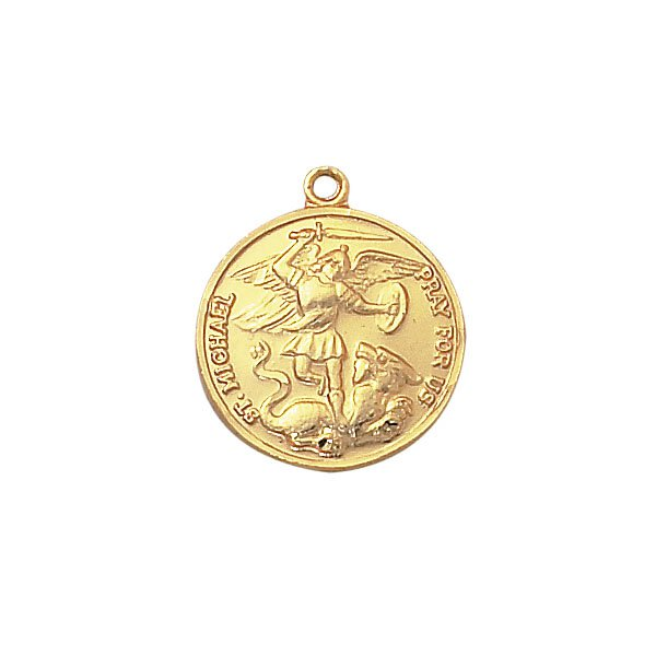 Creed® Gold St. Michael Patron Saint Medal