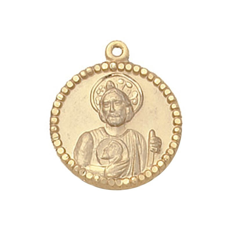 Creed® Gold St. Jude Patron Saint Medal