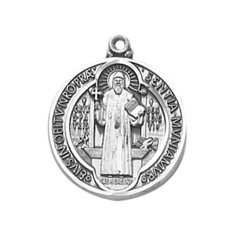 Creed® Sterling St. Benedict Special Devotion Medal