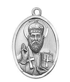 Sterling St. Nicholas Special Devotion Medal
