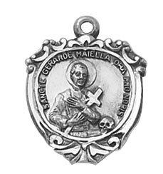 Sterling St. Gerard (Pregnancy) Special Devotion Medal