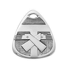 Sterling Franciscan Tau Special Devotion Medal
