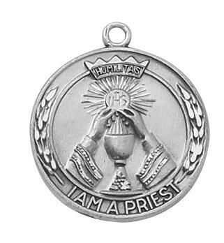 Sterling Priest Special Devotion Medal