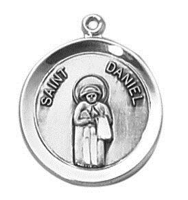 Sterling Patron Saint Daniel Medal