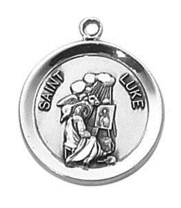Sterling Patron Saint Luke Medal