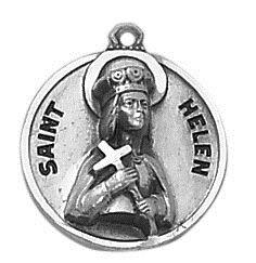 Sterling Patron Saint Helen Medal