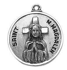 Sterling Patron Saint M. Magdalen Medal