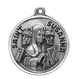 Creed® Sterling Patron Saint Susanna Medal