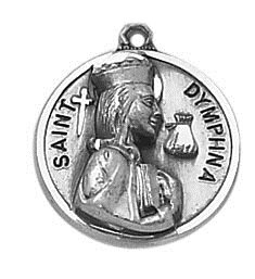 Creed® Sterling Patron Saint Dymphna Medal