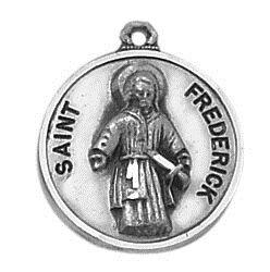Sterling Patron Saint Frederick Medal