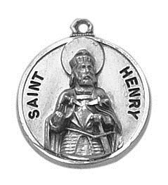 Creed® Sterling Patron Saint Henry Medal