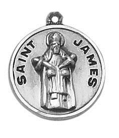 Creed® Sterling Patron Saint James Medal