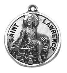 Sterling Patron Saint Lawrence Medal