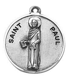 Creed® Sterling Patron Saint Paul Medal
