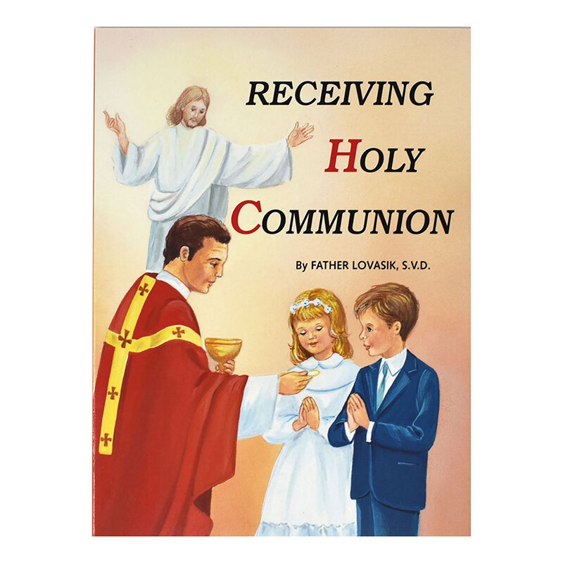 St. Joseph Picture Book - Receiving Holy Communion - 10/pk