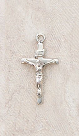 Creed® Sterling Silver Baby Crucifix