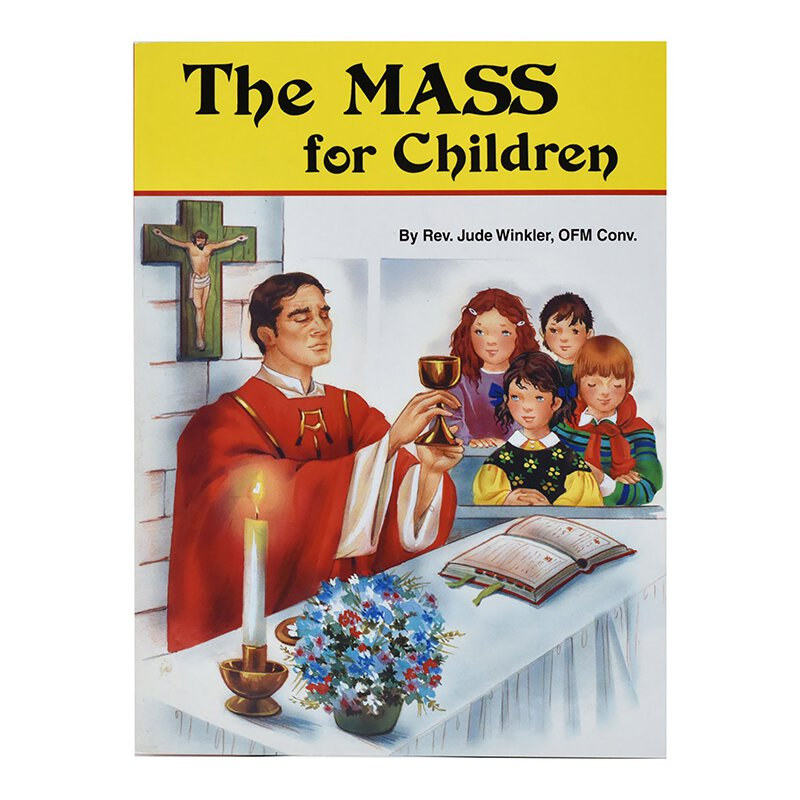 St. Joseph Picture Book - The Mass for Children - 10/pk