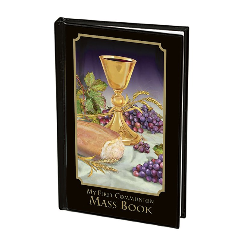 Body of Christ First Communion Mass Book - Boy