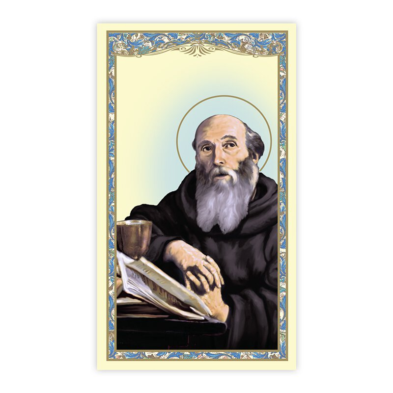 St. Benedict Holy Card - 100/pk