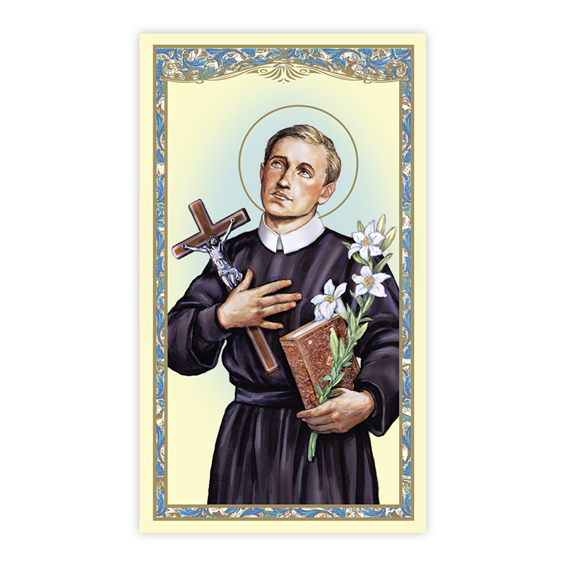 St. Gerard Holy Card - 100/pk