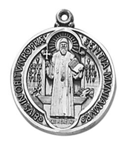 Creed® Heritage Collection St. Benedict Medal