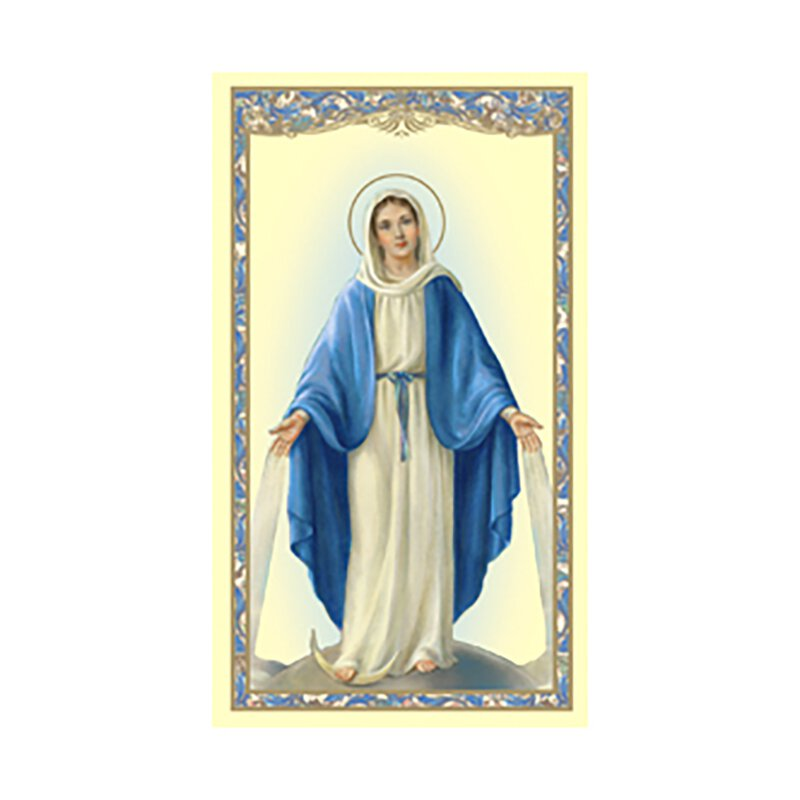 Our Lady of Grace Holy Card (Hail Mary) - 100/pk