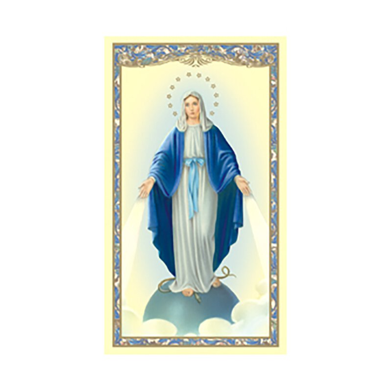 Our Lady of Grace Holy Card (Magnificat) - 100/pk