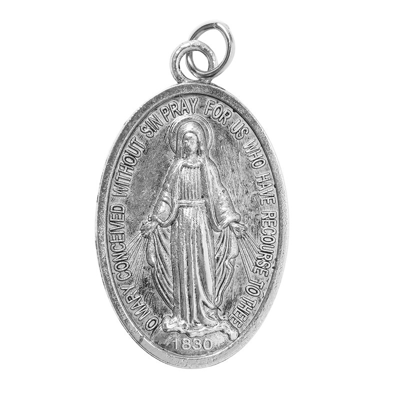 Deluxe Devotional Miraculous Medal - 24/pk