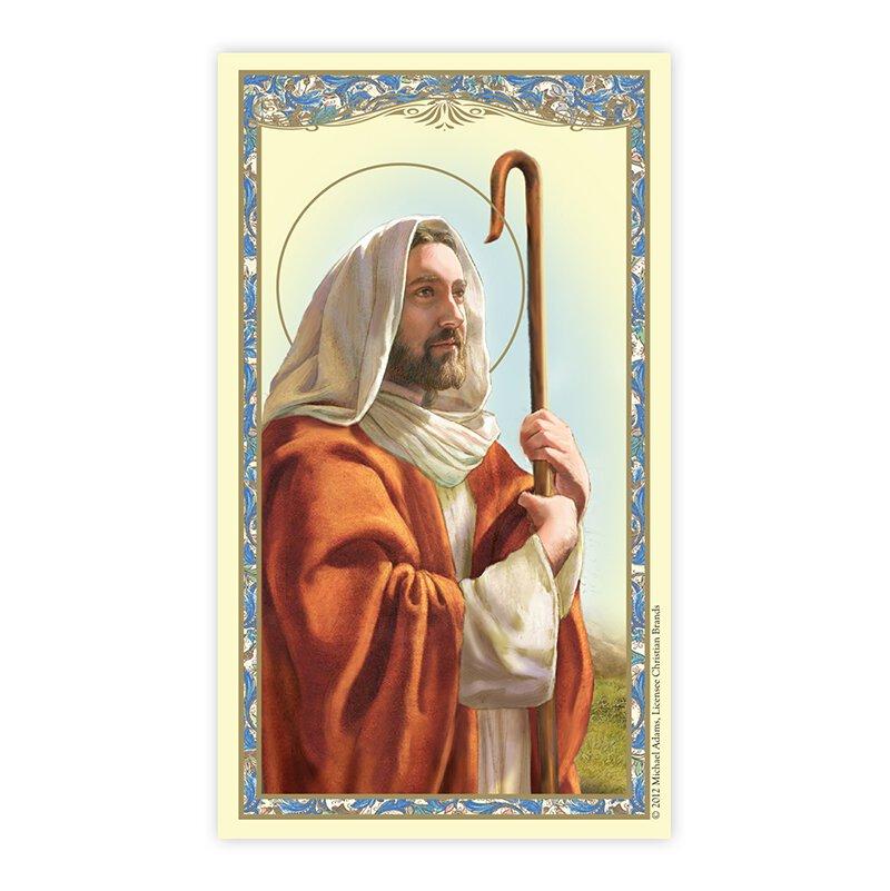 Good Shepherd Laminated Holy Card
