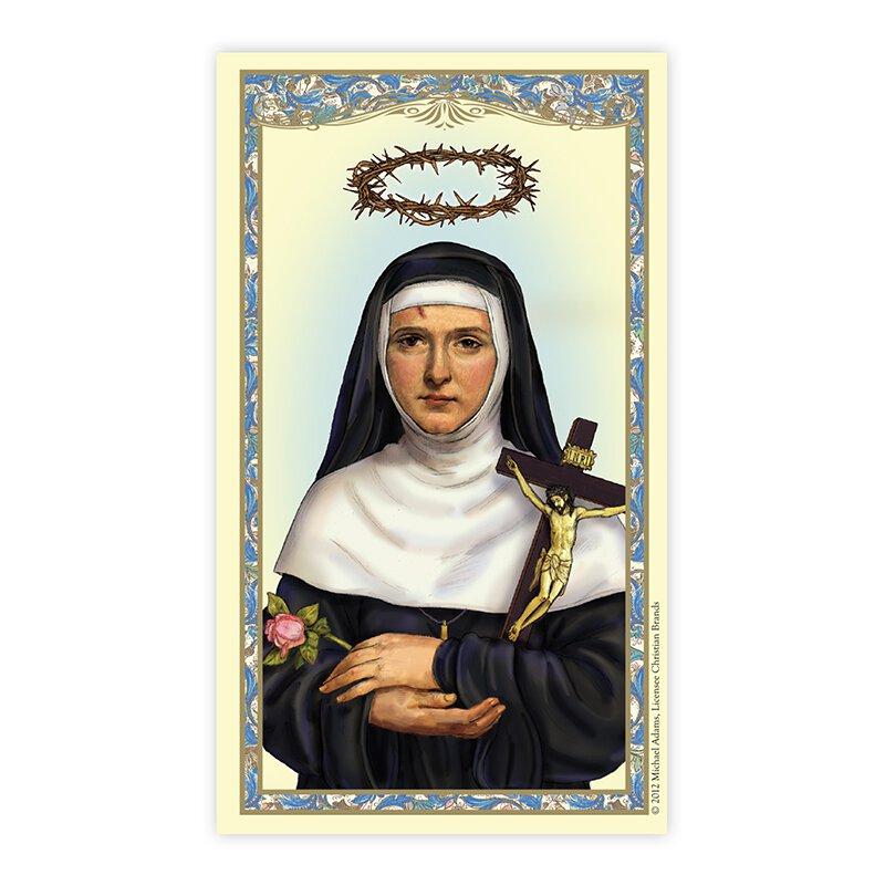 Saint Rita Laminated Holy Card