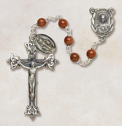 Goldstone Men's Italian Rosary