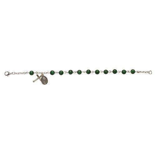 Faux Malachite Italian Gemstone Bracelet