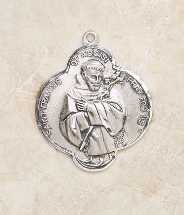 Saint Francis Silver Medal