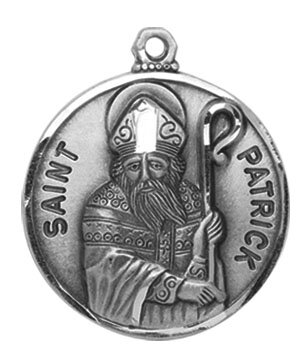 Creed jewelry patron saint medals catholic jewelry autom creed heritage collection st patrick medal aloadofball Images
