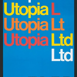 Utopia Ltd., a poster by Dietmar R. Winkler. Source: Library of Congress