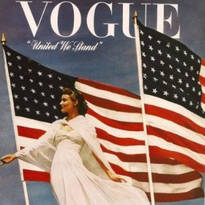 Cover of Vogue, 1942. Source: Smithsonian Museum of American History