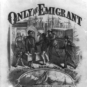 Only an Emigrant. 1879. Source: Library of Congress