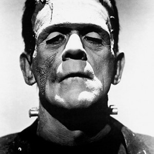 Promotional photo of Boris Karloff from The Bride of Frankenstein as Frankenstein's monster. Source: Wikimedia Commons