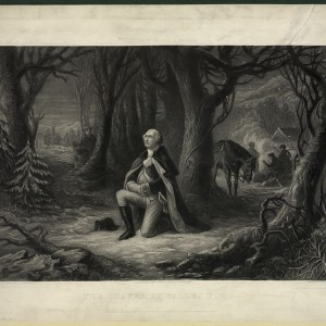 """""""The prayer at Valley Forge"""" by H. Brueckner"""