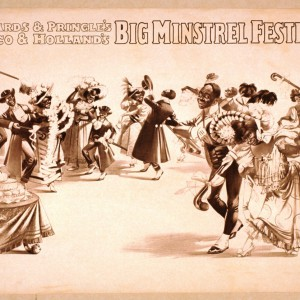 Richards & Pringle's, Rusco & Holland's Big Minstrel Festival, circa 1898. Source: Library of Congress