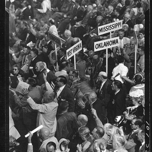 Attendees at the 1952 Republican National Convention, Chicago, IL (LOC)