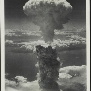 Nagasaki, Japan under atomic bomb attack on August 9, 1945. Source: Library of Congress