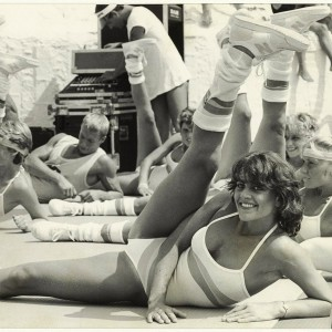 Aerobics created by Fotoburo de Boer between 1983 and 1985. Source: Wikimedia Commons