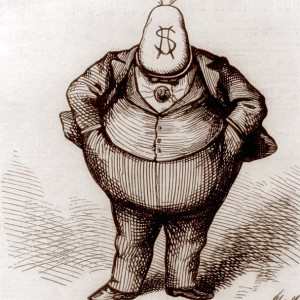 Thomas Nast cartoon of Boss Tweed. Source: Wikimedia Commons