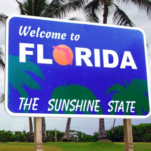 Welcome to Florida Sign by DonkeyHotey via Flickr available under Creative Commons Attribution 2.0 Generic (CC BY 2.0)