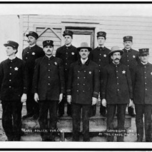 The police in Gary, Ind., 1908. Credit: Library of Congress.