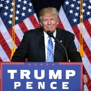 Donald Trump speaking at an immigration policy speech in Phoenix, Arizona. Aug. 31, 2016. Source: Gage Skidmore, Wikimedia Commons