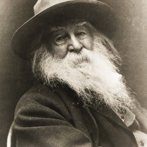 Walt Whitman by George C. Cox, 1887. Source: Library of Congress