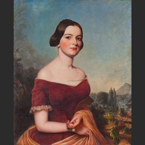 Portrait of Julia Mitchell, prior to her marriage. Source: American Civil War Museum